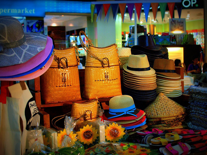 accessories, native bags, hats, Davao City