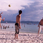 beach volleyball, Boracay, Malay, Aklan